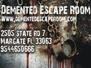 2017 demented escape room will not be your typical escape room experience fun laughs and scares be ready for the unexpected not only will you have try - Halloween Events In Broward