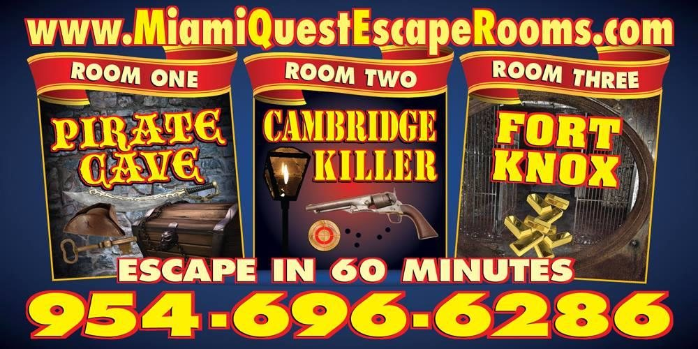 Miami Quest Escape Rooms Reviews