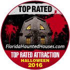 Haunted house award for 2016