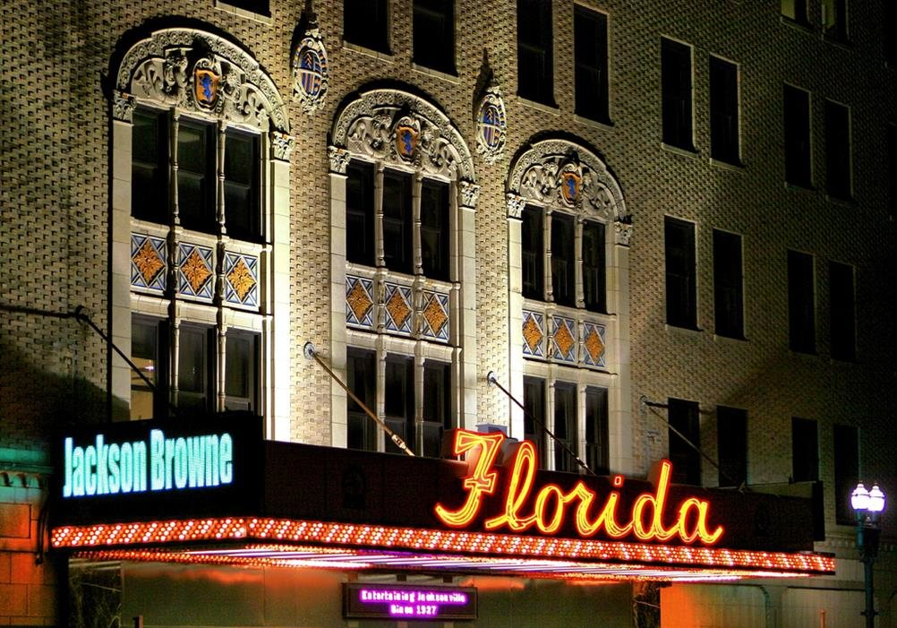 Florida theatre jacksonville florida real haunted place for Michaels crafts jacksonville fl