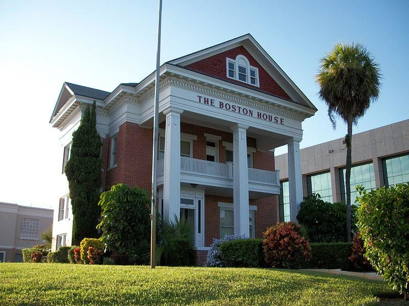 the boston house fort pierce florida real haunted place